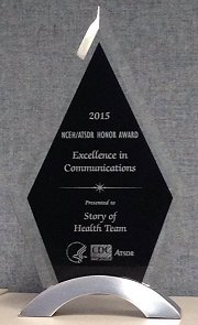 A Story of Health award